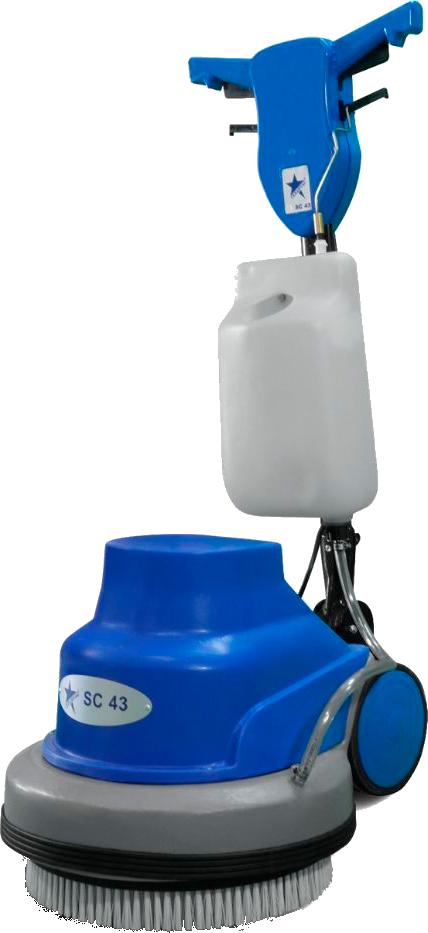 Роторный полотер для чистки напольных покрытий
